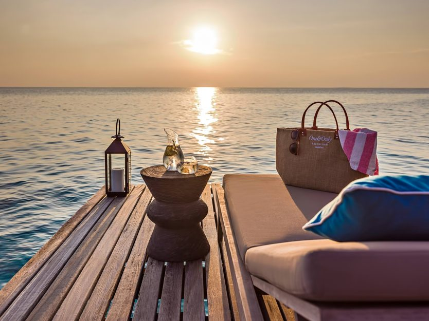 One&Only Reethi Rah Luxury Resort - North Male Atoll, Maldives - Overwater Villa Ocean View Sunset