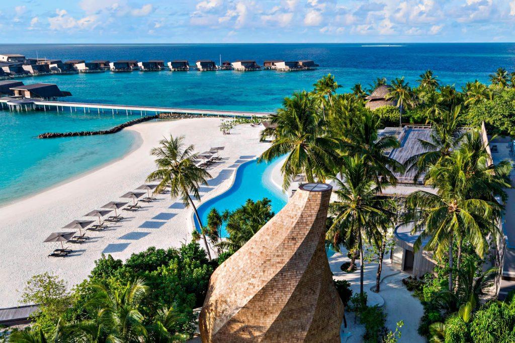 The St. Regis Maldives Vommuli Luxury Resort - Dhaalu Atoll, Maldives - Resort View