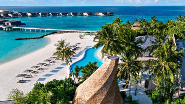The St. Regis Maldives Vommuli Luxury Resort - Dhaalu Atoll, Maldives - Resort View