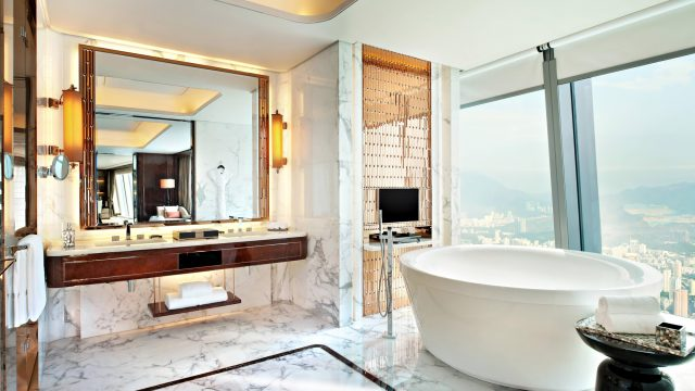 The St. Regis Shenzhen Luxury Hotel - Shenzhen, China - Presidential Suite Bathroom