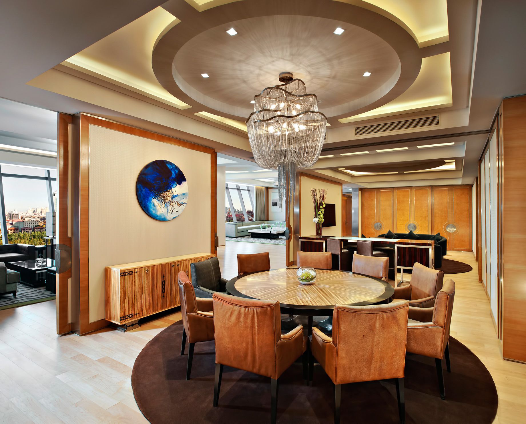 The St. Regis Tianjin Luxury Hotel – Tianjin, China – Riviera Restaurant – President Suite Dining Room