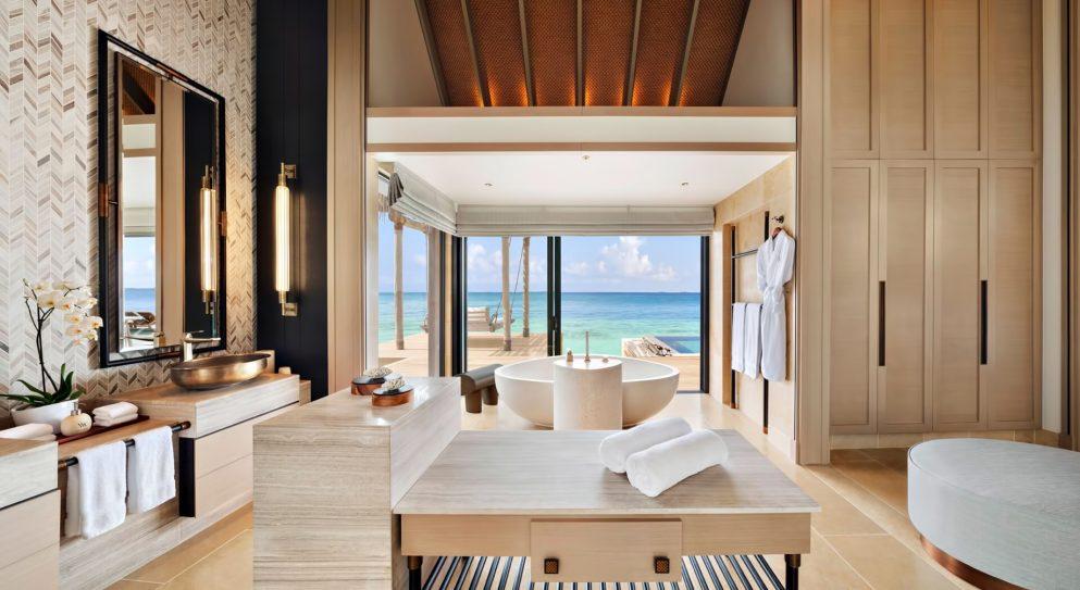 038 - Waldorf Astoria Maldives Ithaafushi Luxury Resort - Ithaafushi Island, Maldives - Beach Villa with Pool Master Bedroom