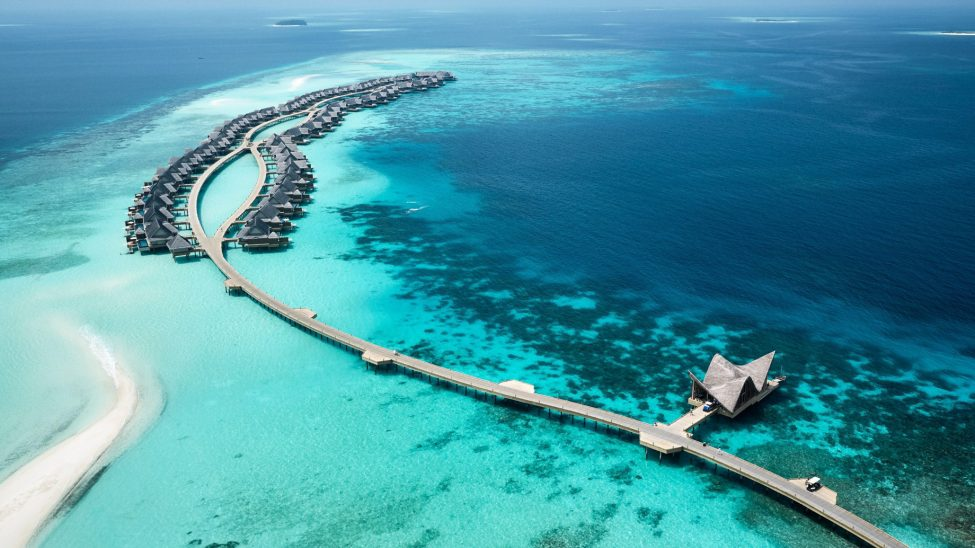 Joali Maldives Luxury Resort - Muravandhoo Island, Maldives - Aerial