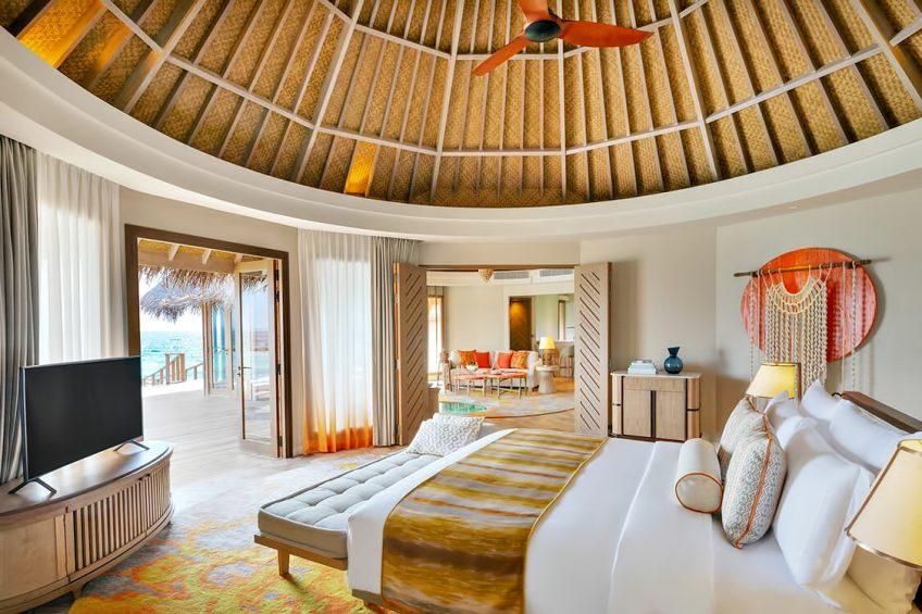 The Nautilus Maldives Luxury Resort - Thiladhoo Island, Maldives - Ocean Residence Bedroom