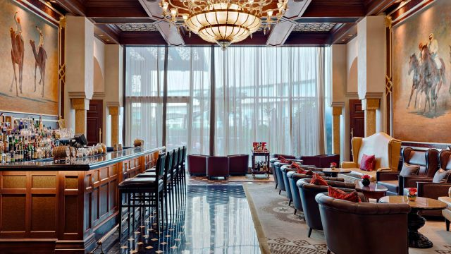 The St. Regis Abu Dhabi Luxury Hotel - Abu Dhabi, United Arab Emirates - St. Regis Bar
