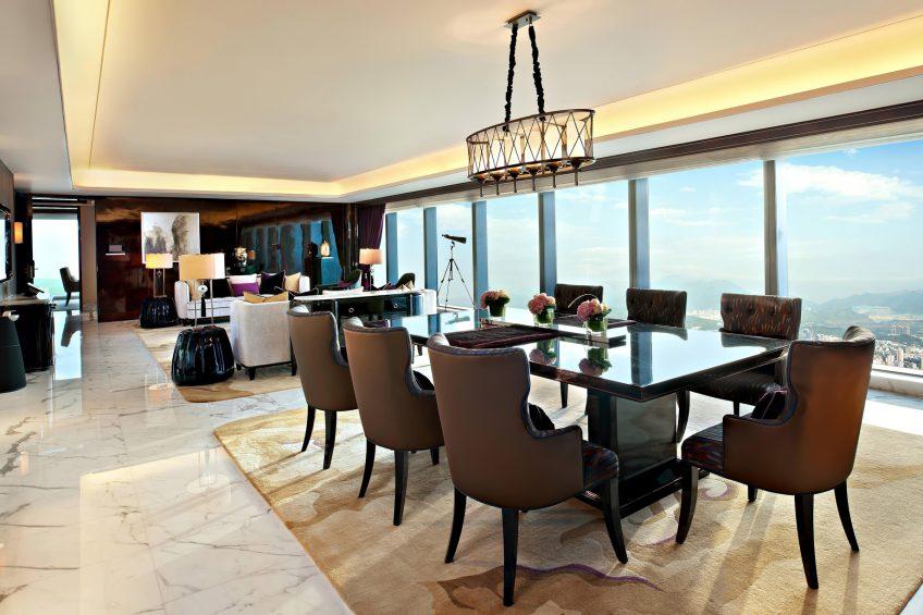 The St. Regis Shenzhen Luxury Hotel - Shenzhen, China - Presidential Suite Living Room