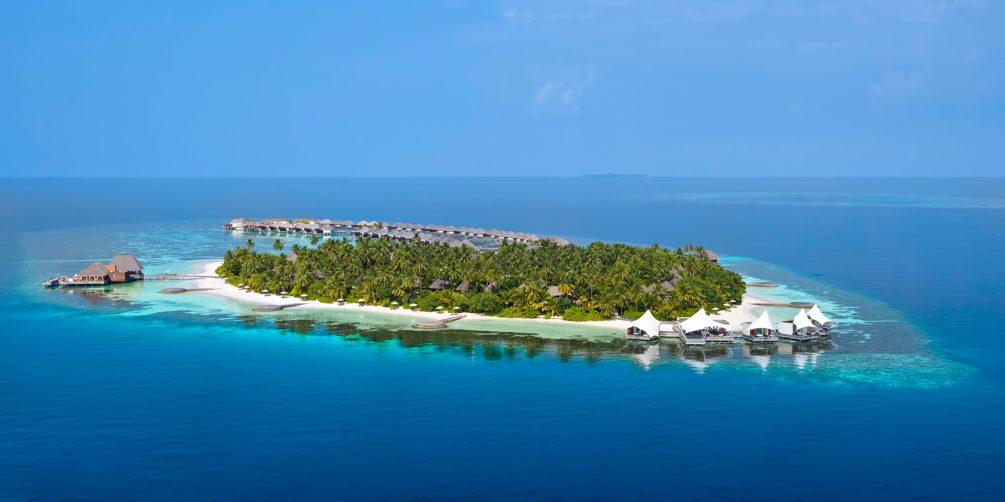 W Maldives Luxury Resort - Fesdu Island, Maldives - Private Island Resort Aerial View