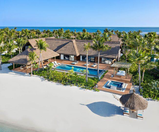Waldorf Astoria Maldives Ithaafushi Luxury Resort - Ithaafushi Island, Maldives - Beach Villa