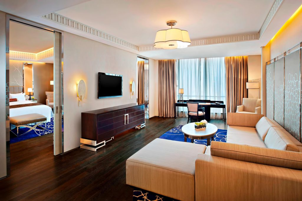 The St. Regis Tianjin Luxury Hotel - Tianjin, China - Governor Suite Living Room