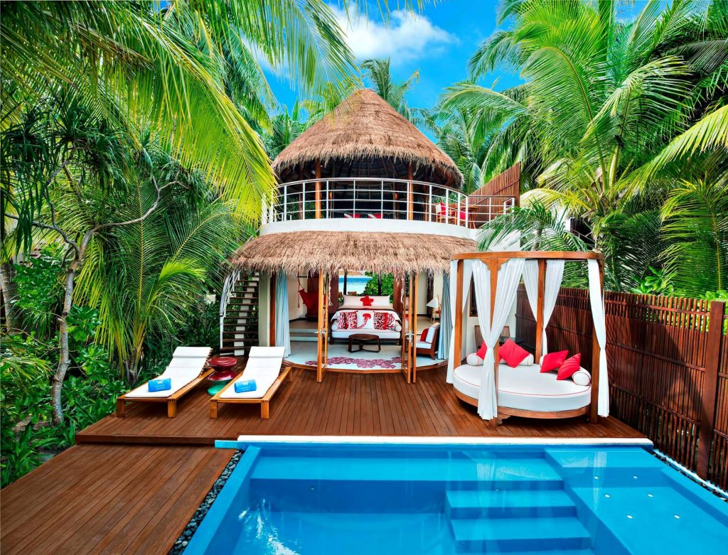 W Maldives Luxury Resort - Fesdu Island, Maldives - Tropical Beach House