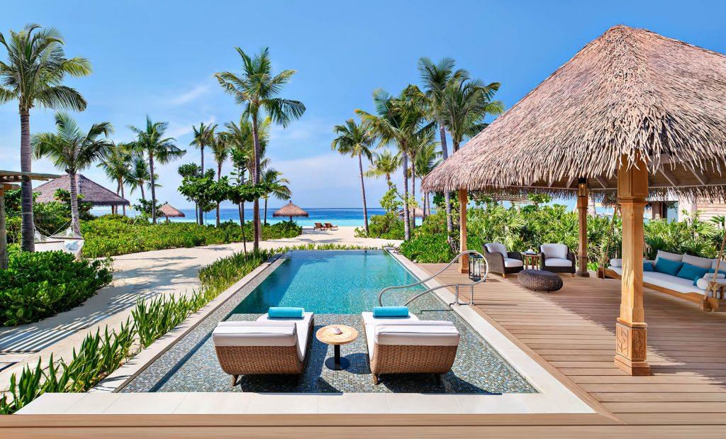 Waldorf Astoria Maldives Ithaafushi Luxury Resort - Ithaafushi Island, Maldives - Beach Villa Pool Deck