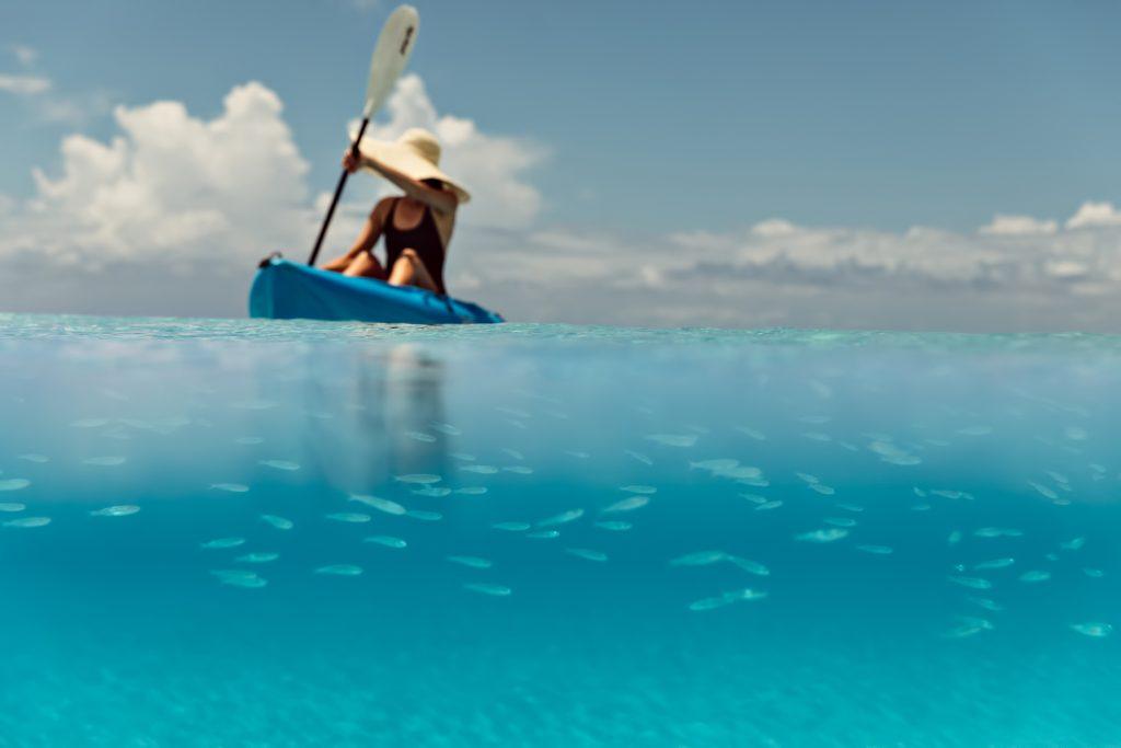 Amanyara Luxury Resort - Providenciales, Turks and Caicos Islands - Sea Kayaking