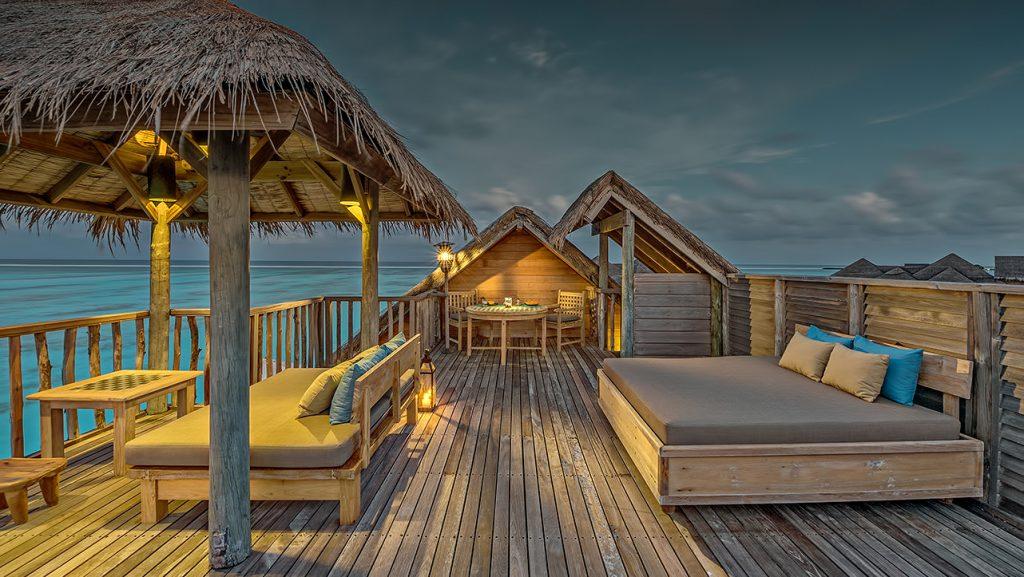 Gili Lankanfushi Luxury Resort - North Male Atoll, Maldives - Family Villa Rooftop Terrace