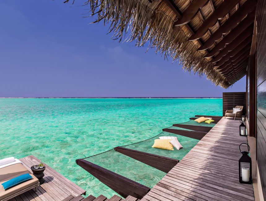 One&Only Reethi Rah Luxury Resort - North Male Atoll, Maldives - Overwater Villa Ocean Deck