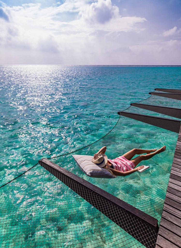 One&Only Reethi Rah Luxury Resort - North Male Atoll, Maldives - Overwater Villa Ocean Deck Net