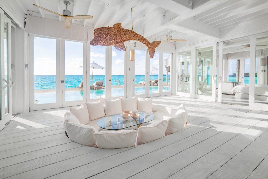 Soneva Jani Luxury Resort - Noonu Atoll, Medhufaru, Maldives - 3 Bedroom Water Reserve Villa with Slide Livingroom View
