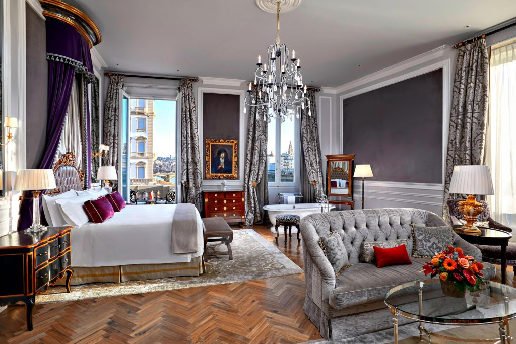 The St. Regis Florence Luxury Hotel - Florence, Italy - Junior Suite Arno Starford
