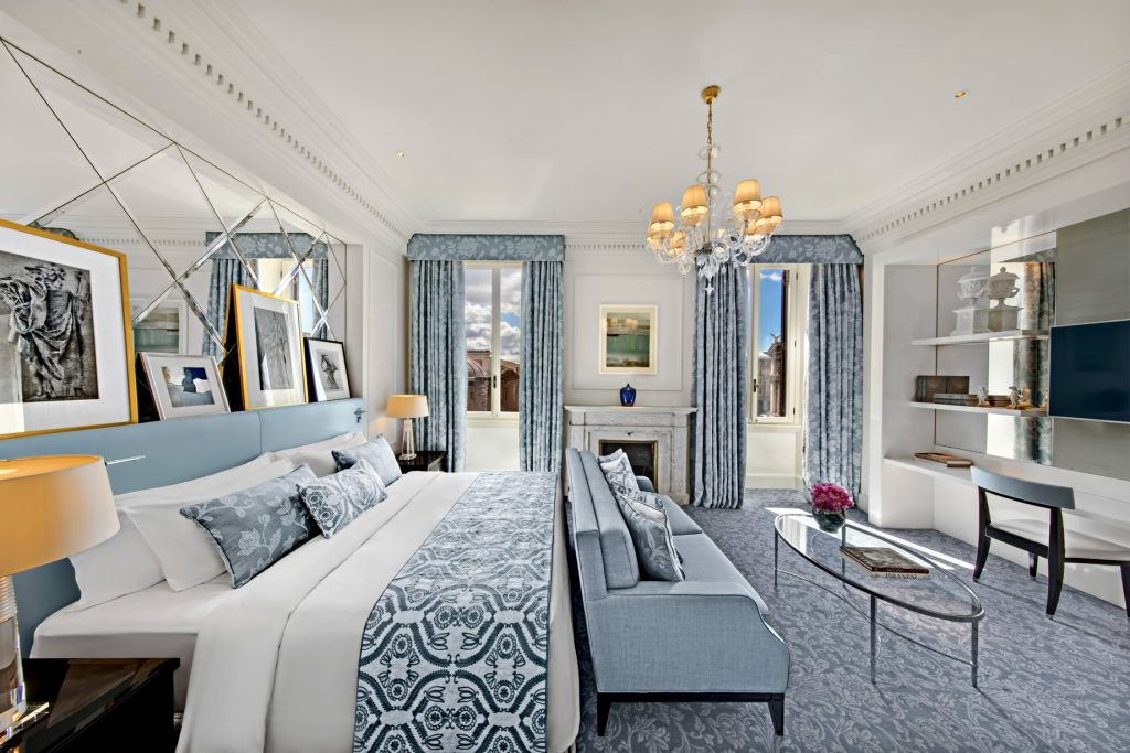 The St. Regis Rome Luxury Hotel - Rome, Italy - Imperial Room Twin and Single