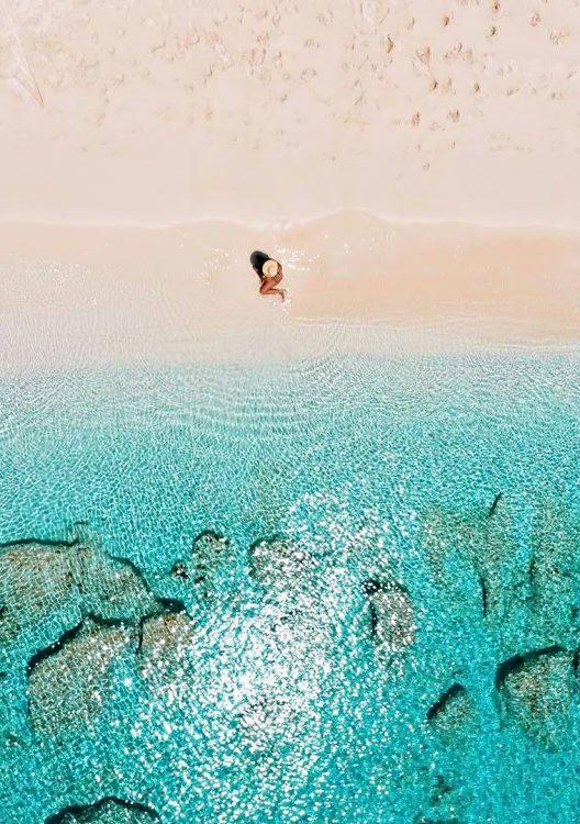 Amanyara Luxury Resort - Providenciales, Turks and Caicos Islands - Beach Sun Bathing