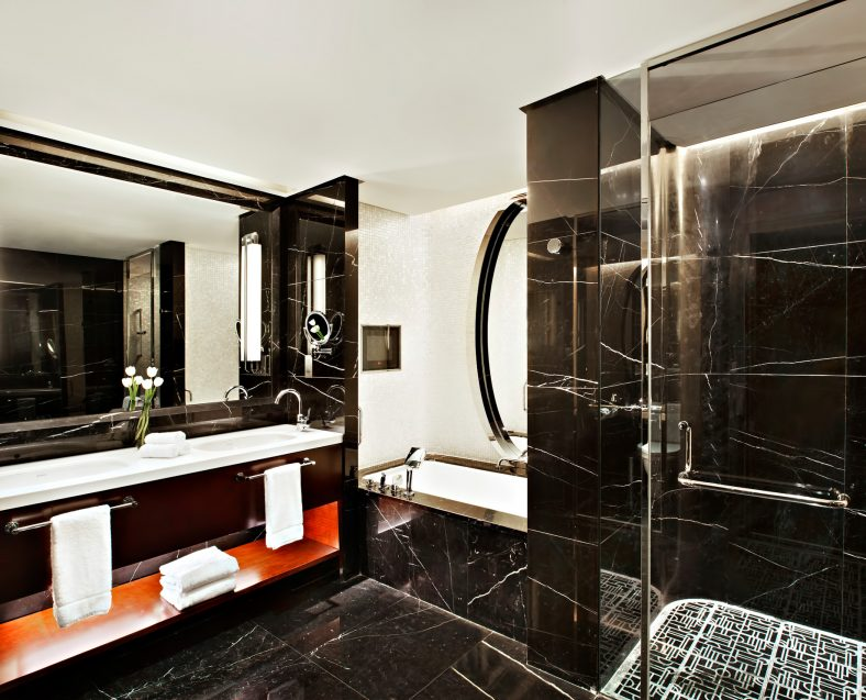 The St. Regis Tianjin Luxury Hotel - Tianjin, China - Superior Suite Bathroom