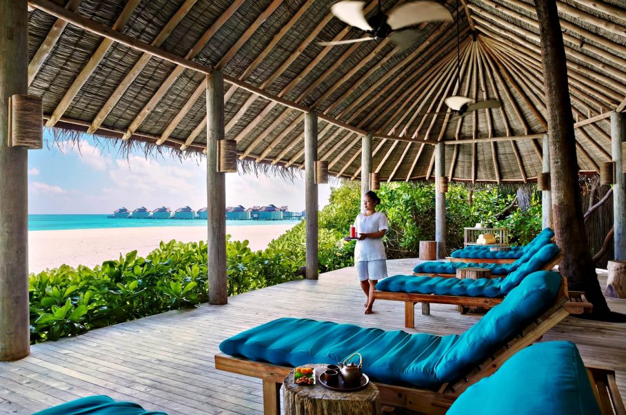 Six Senses Laamu Luxury Resort - Laamu Atoll, Maldives - Private Island Beachfront Spa