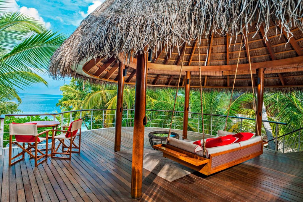 W Maldives Luxury Resort - Fesdu Island, Maldives - Wonderful Beach Oasis Upper Deck