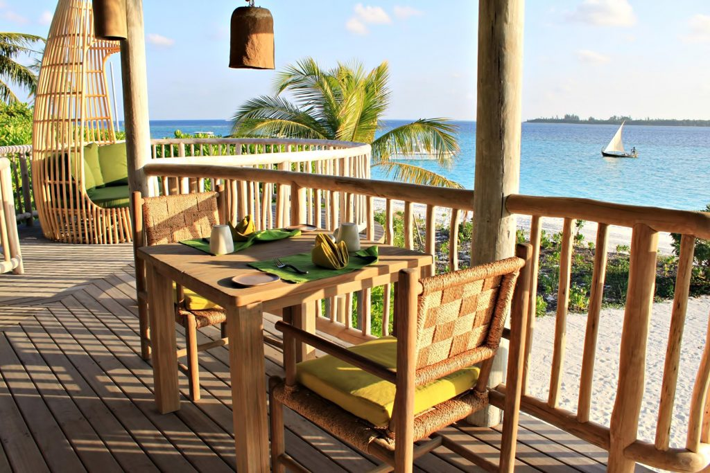 Six Senses Laamu Luxury Resort - Laamu Atoll, Maldives - Private Island Beachfront Dining