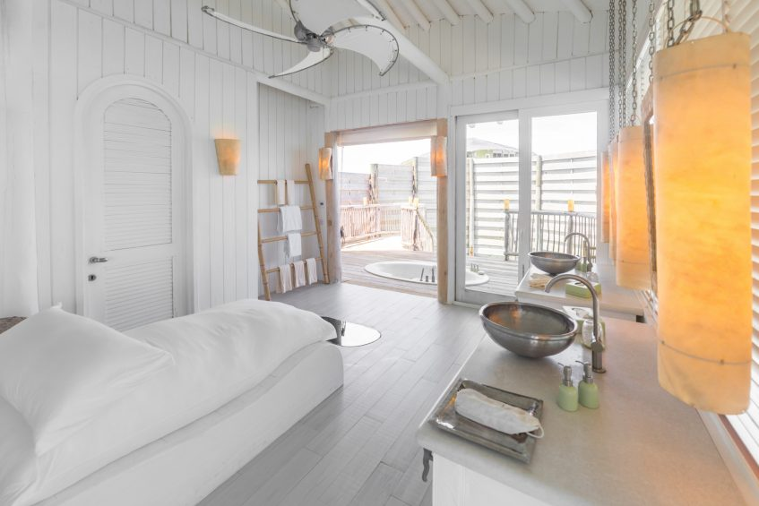 Soneva Jani Luxury Resort - Noonu Atoll, Medhufaru, Maldives - 3 Bedroom Water Reserve Villa with Slide Bathroom