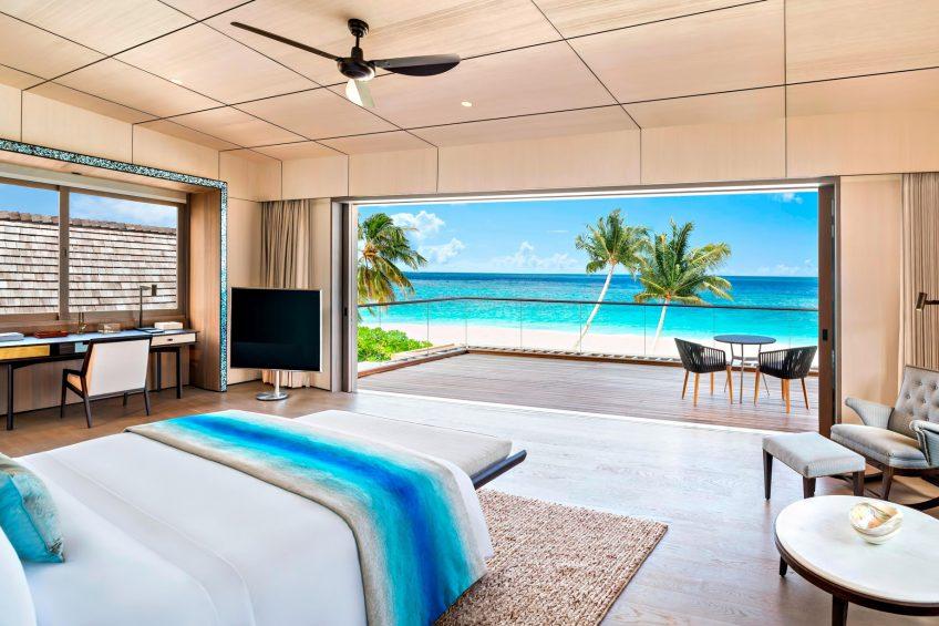 The St. Regis Maldives Vommuli Luxury Resort - Dhaalu Atoll, Maldives - Caroline Astor Estate Master Bedroom