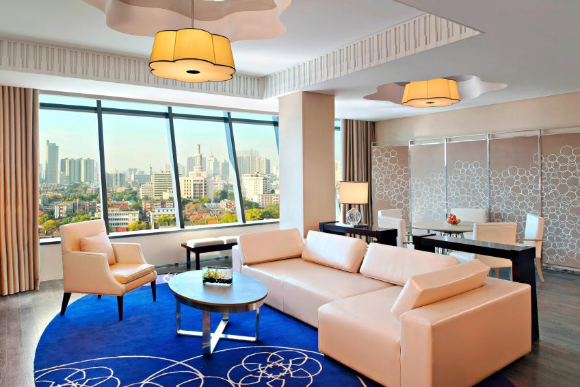 The St. Regis Tianjin Luxury Hotel - Tianjin, China - Metropolitan Suite Living Room