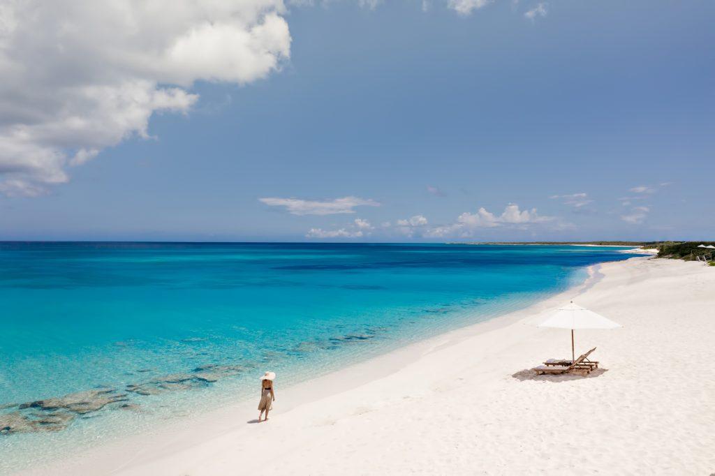 Amanyara Luxury Resort - Providenciales, Turks and Caicos Islands - White Sand Beach