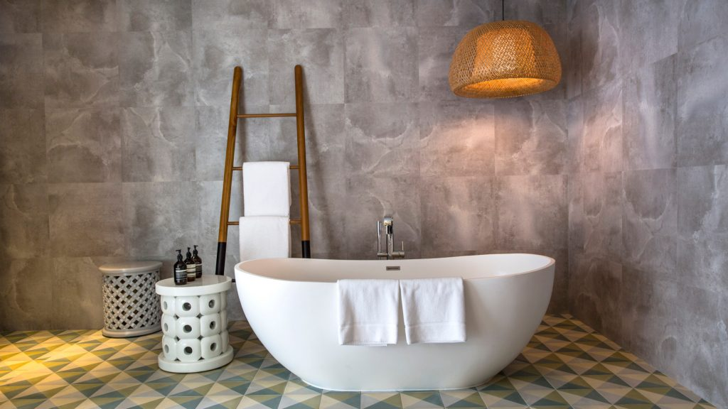 Amilla Fushi Luxury Resort and Residences - Baa Atoll, Maldives - Ocean Beach House Bathtub
