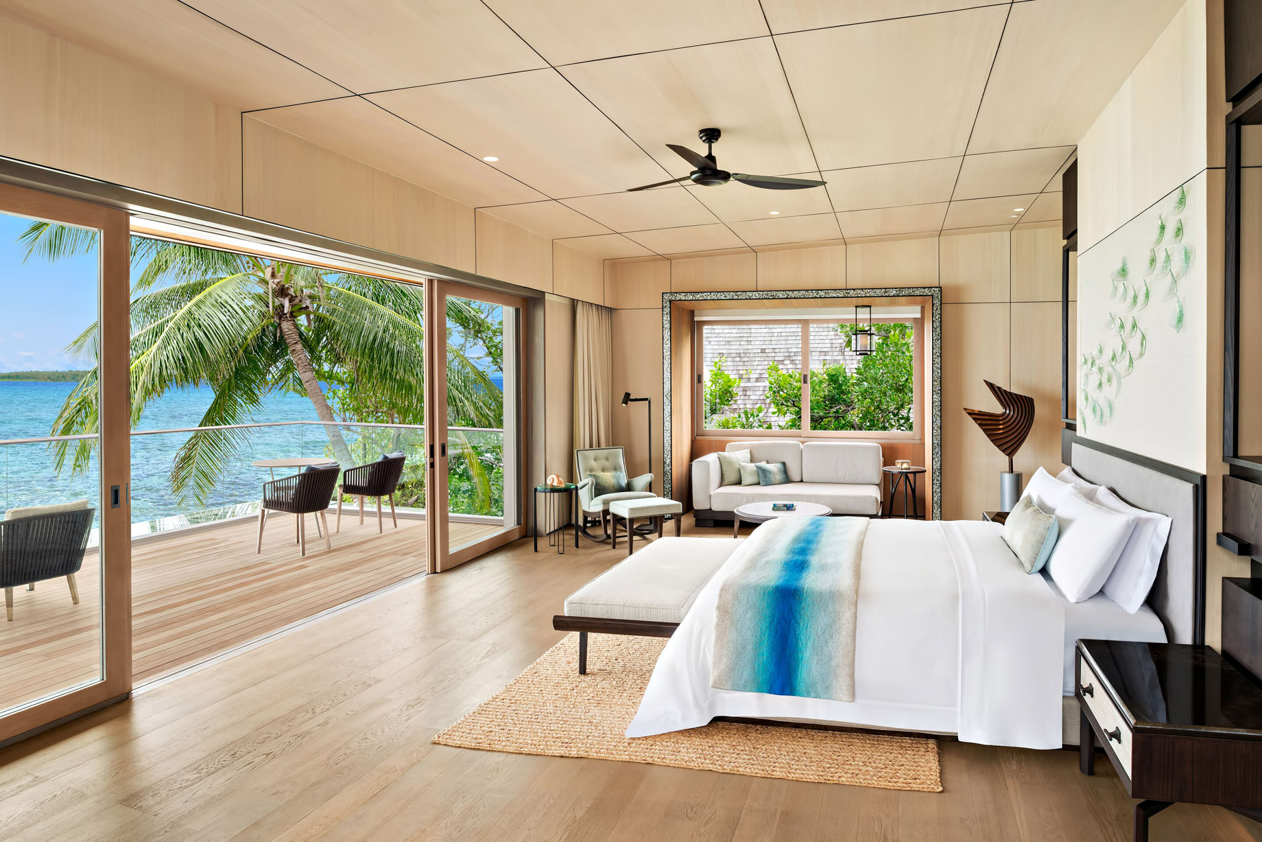 The St. Regis Maldives Vommuli Luxury Resort - Dhaalu Atoll, Maldives - King Two Bedroom Beach Suite