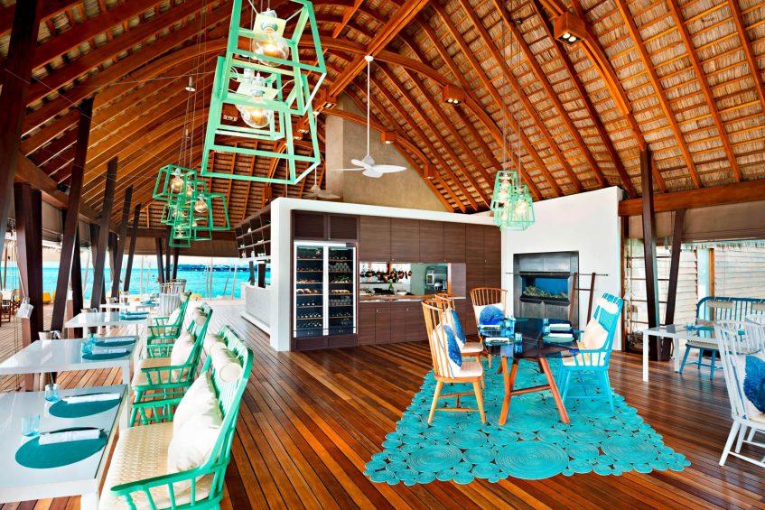 W Maldives Luxury Resort - Fesdu Island, Maldives - FISH Restaurant Interior