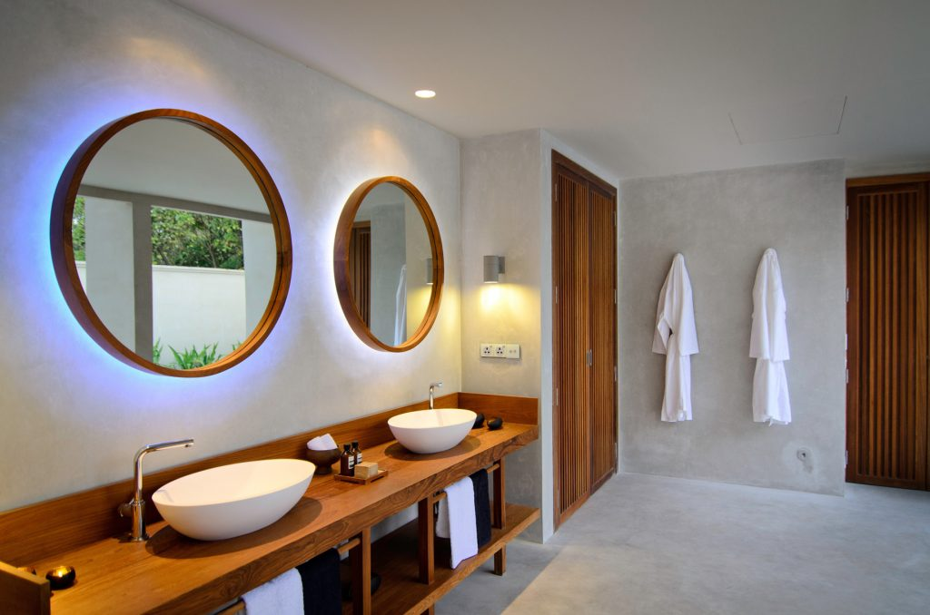 Amilla Fushi Luxury Resort and Residences - Baa Atoll, Maldives - Ocean Beach House Bathroom