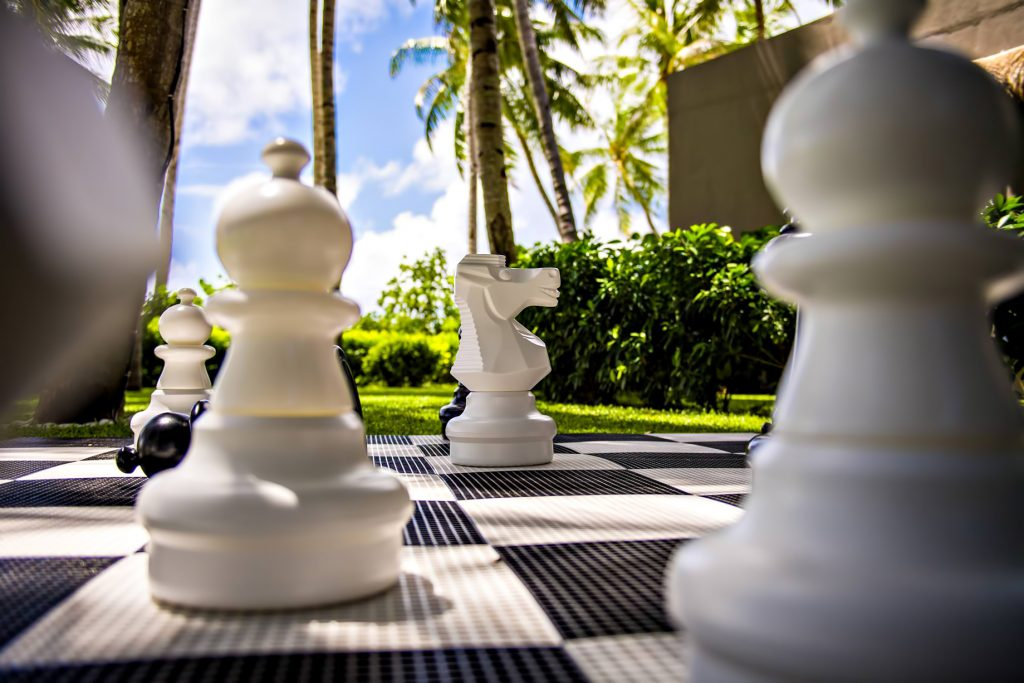 Cheval Blanc Randheli Luxury Resort - Noonu Atoll, Maldives - Resort Lawn Chess