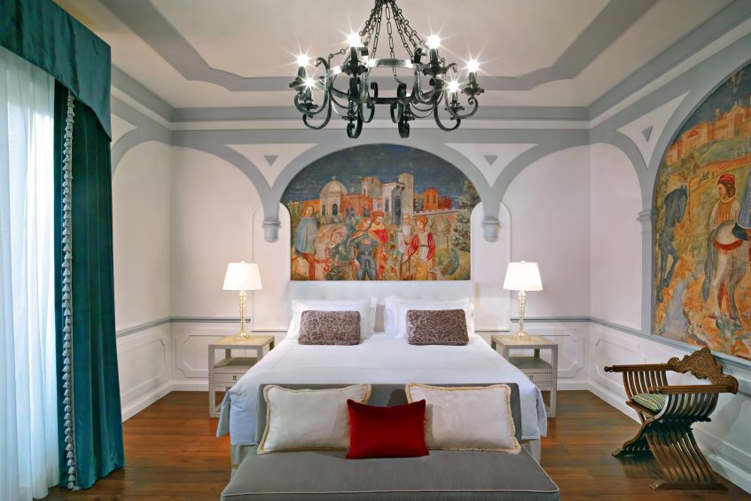 The St. Regis Florence Luxury Hotel - Florence, Italy - Premium Deluxe Florentine style