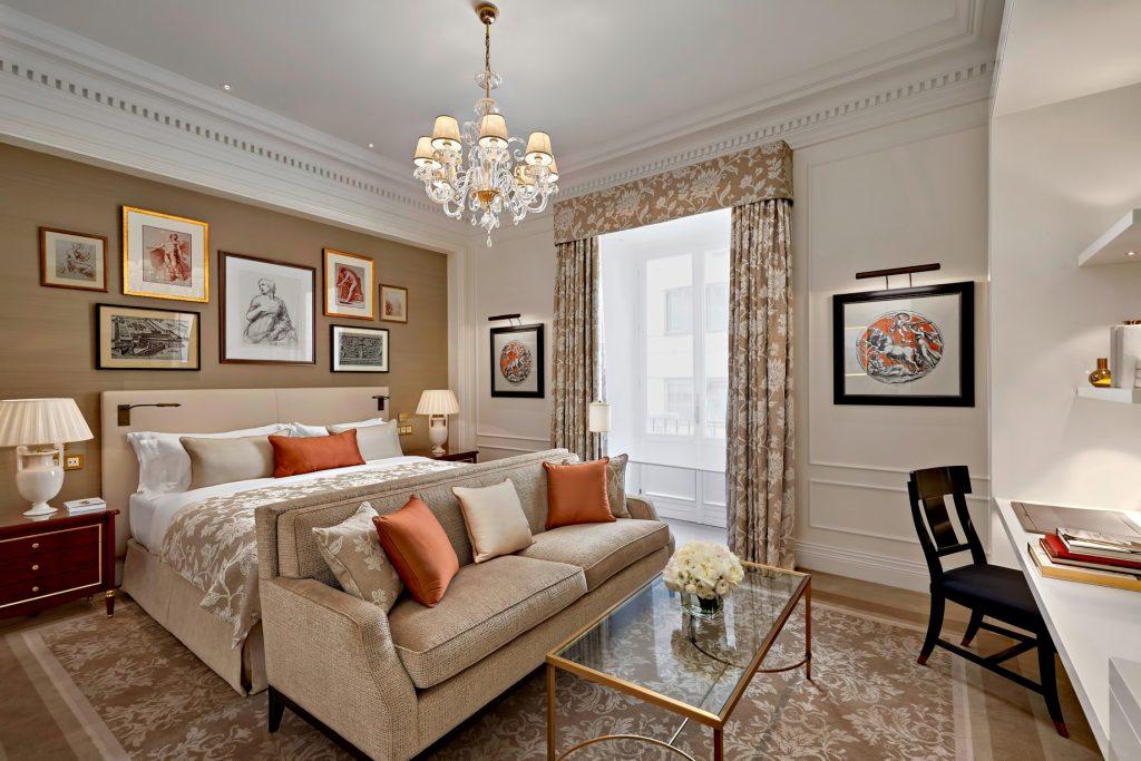 The St. Regis Rome Luxury Hotel - Rome, Italy - St. Regis Suite Bedroom