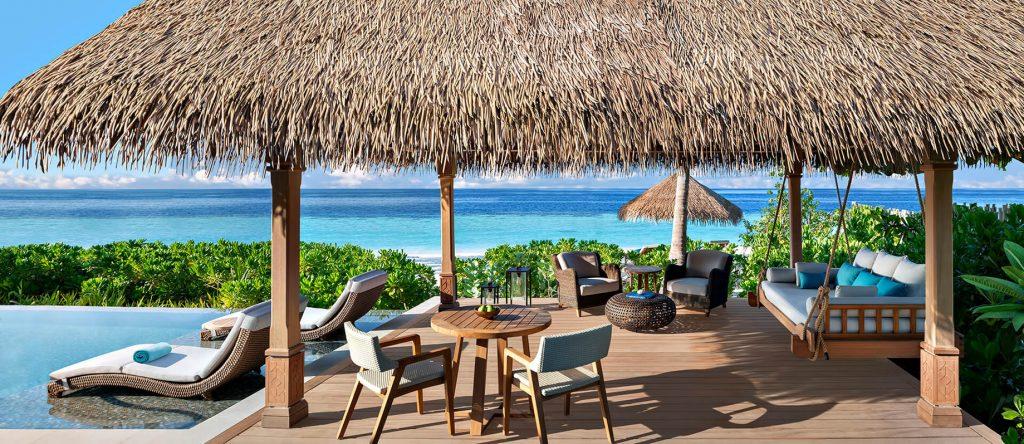Waldorf Astoria Maldives Ithaafushi Luxury Resort - Ithaafushi Island, Maldives - Grand Beach Villa Pool Deck