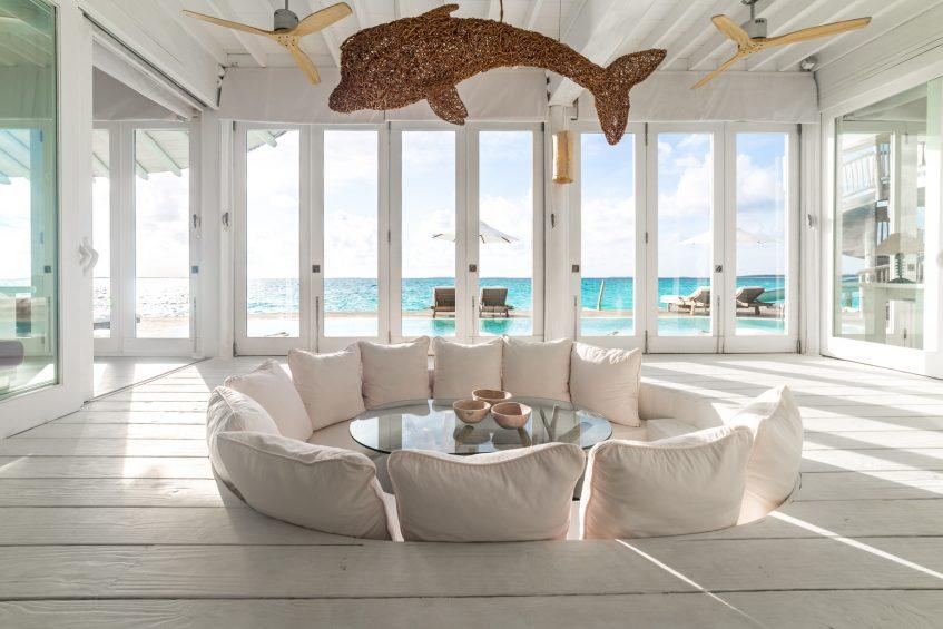 Soneva Jani Luxury Resort - Noonu Atoll, Medhufaru, Maldives - 3 Bedroom Water Reserve Villa with Slide Living Area View