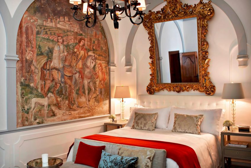 The St. Regis Florence Luxury Hotel - Florence, Italy - Deluxe Room Florentine style