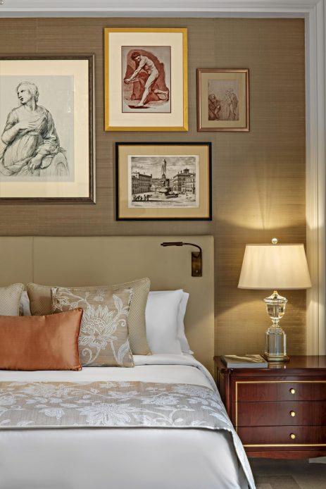 The St. Regis Rome Luxury Hotel - Rome, Italy - King St. Regis Suite