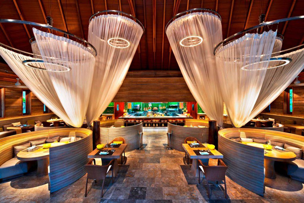 W Maldives Luxury Resort - Fesdu Island, Maldives - Private Island Kitchen Interior