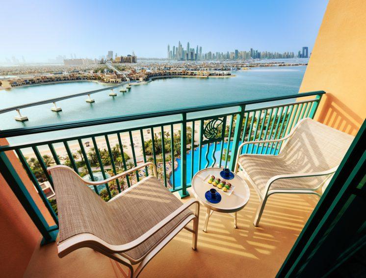 Atlantis The Palm Luxury Resort - Crescent Rd, Dubai, UAE - Palm Room Balcony