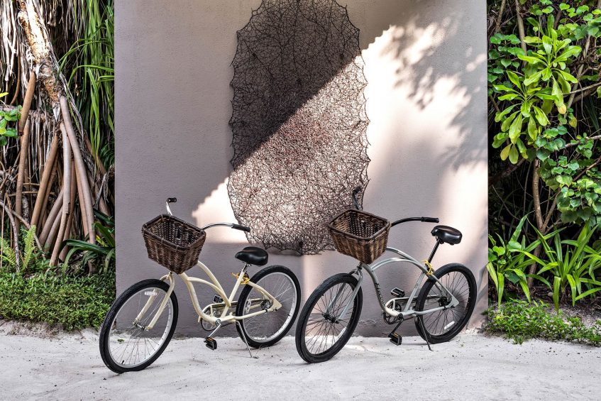 Cheval Blanc Randheli Luxury Resort - Noonu Atoll, Maldives - Resort Bikes