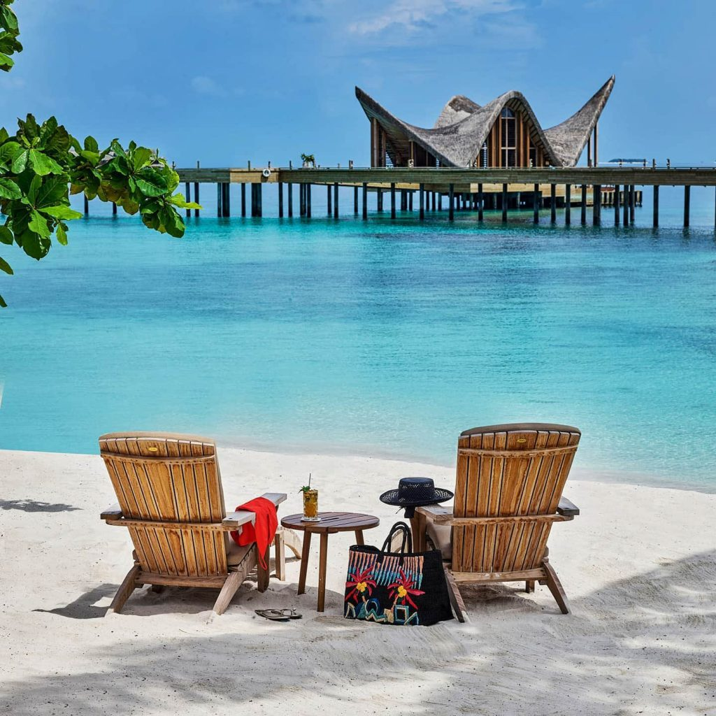 Joali Maldives Luxury Resort - Muravandhoo Island, Maldives - Beach Chair View