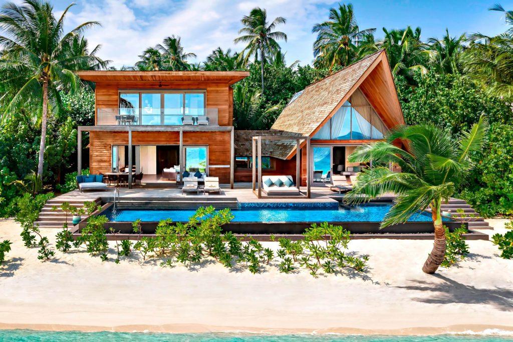 The St. Regis Maldives Vommuli Luxury Resort - Dhaalu Atoll, Maldives - Cesar Balsa 2 Bedroom Beach Villa