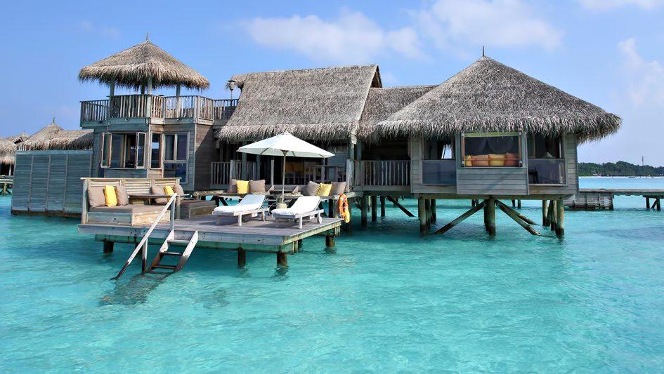 Gili Lankanfushi Luxury Resort - North Male Atoll, Maldives - Overwater Lagoon Villa Outdoor Deck