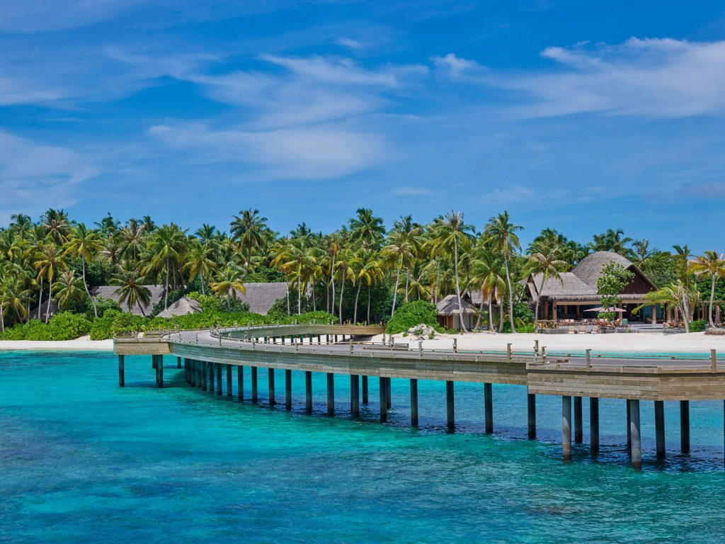 Joali Maldives Luxury Resort - Muravandhoo Island, Maldives - Boardwalk View