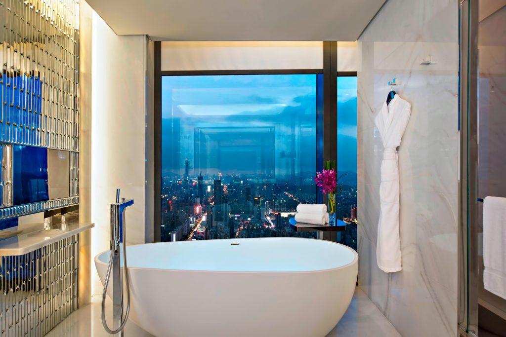 The St. Regis Shenzhen Luxury Hotel - Shenzhen, China - Caroline Astor Suite Bathroom